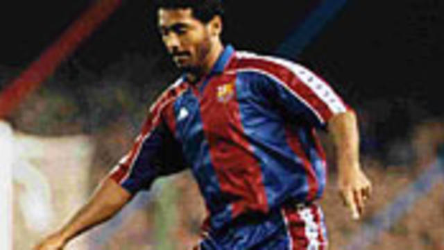 Photo of Romario in action