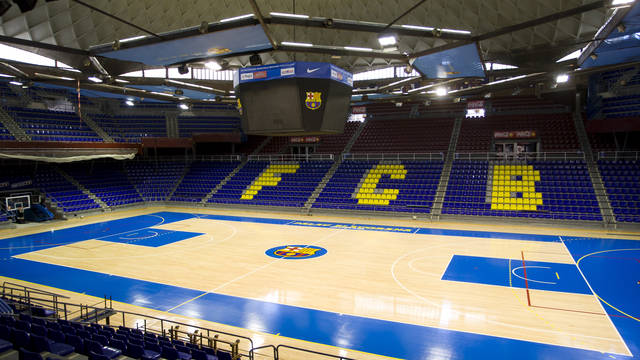 Vista general del Palau Blaugrana