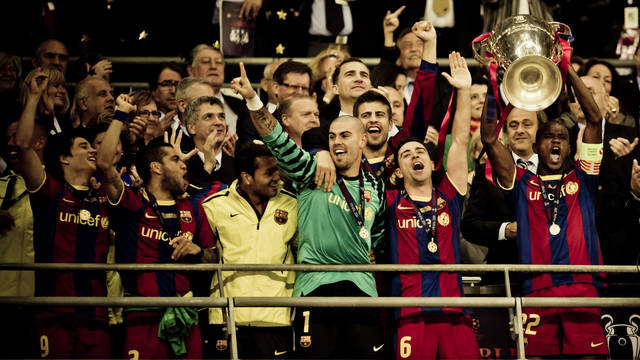 2011. Barça and Guardiola win fourth European Cup at Wembley