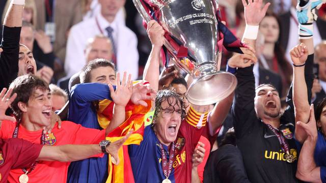 2009. Barça and Guardiola win third European Cup in Rome