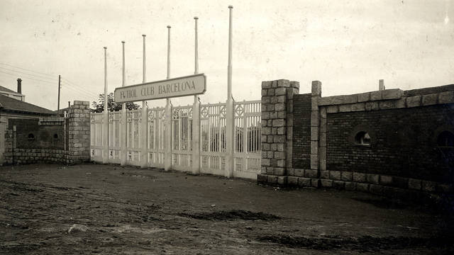 The Old Les Corts Stadium