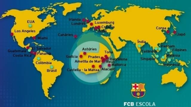 Mapa Campus FCBEscola