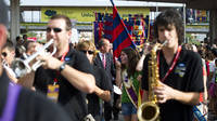 Parade during the thirty-fourth Barça Supporters Clubs World Meeting