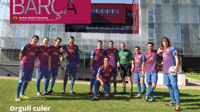 Revista Barça October 2011