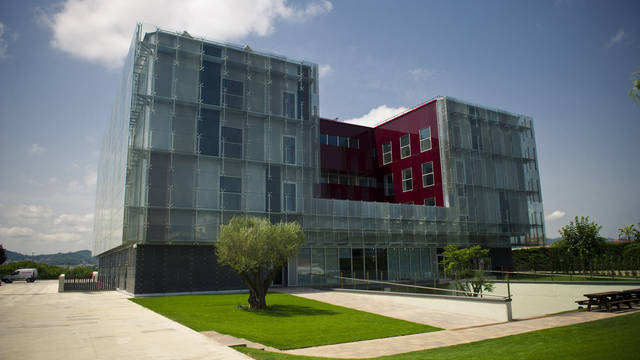The outside of the new Masia / FOTO: ÀLEX CAPARRÓS - FCB