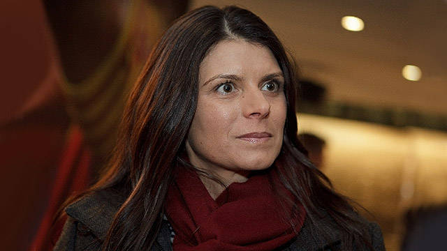 Portrait of Mia Hamm