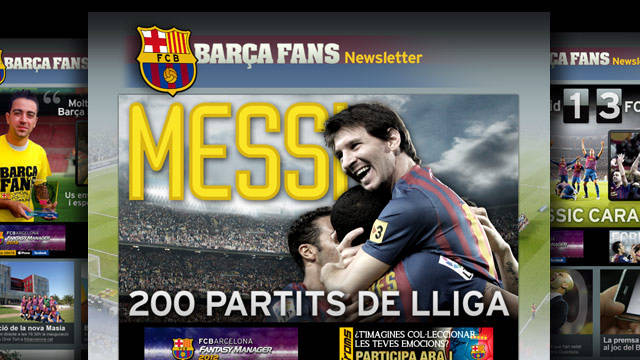 Image of some Barça fans newsletters