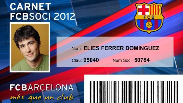 Hazte socio del FC. Barcelona