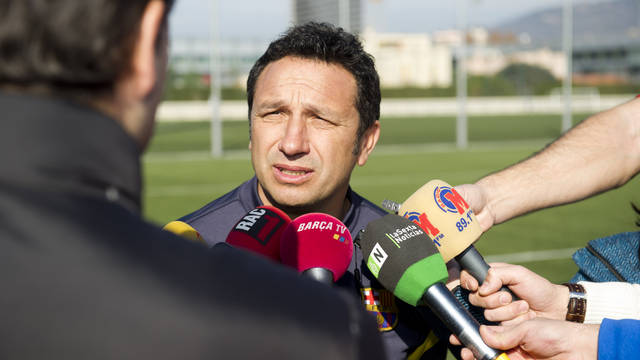 Eusebio Sacristán / PHOTO: ARXIU FCB