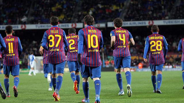 Las mejores jugadas del Barça (Tiki Taka) de este año.
