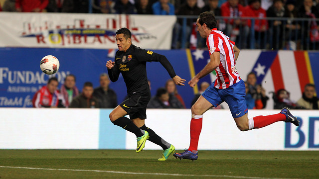 Atltico de Madrid-FCB (1-2). FOTO: MIGUEL RUIZ-FCB.