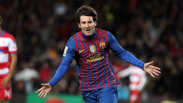 Messi ha signat un nou hat-trick i ja és el màxim golejador de la història del Club / FOTO: MIGUEL RUIZ-FCB