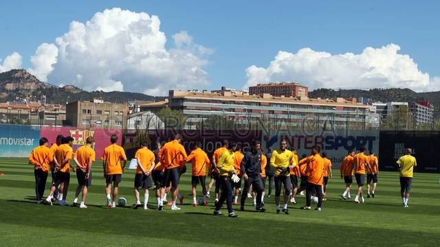 Training session 15/04/12. FOTO: MIGUEL RUIZ-FCB.