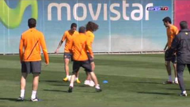 Training session (15-04-12)