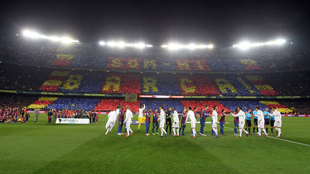 The second Clásico at the Camp Nou in 2012/ PHOTO: ARXIU FCB