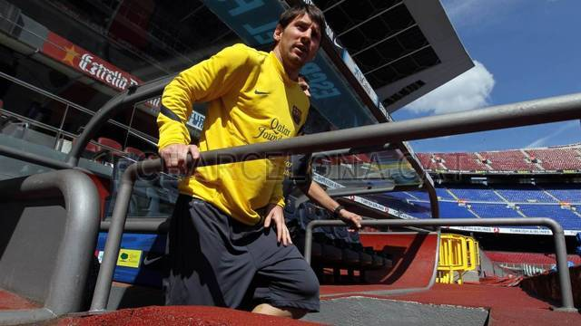 Training session 21/04/2012 / PHOTO: MIGUEL RUIZ - FCB