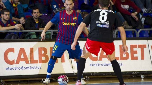 At the Palau,  Barça Alusport won 4-2 / PHOTO: ARXIU FCB