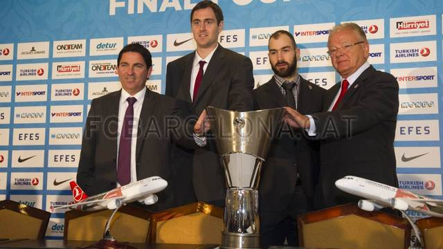Final Four Official Press Conference / PHOTO: ÁLEX CAPARRÓS - FCB