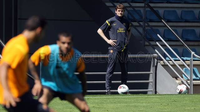 Training session 11/05/2012 / PHOTO: MIGUEL RUIZ - FCB