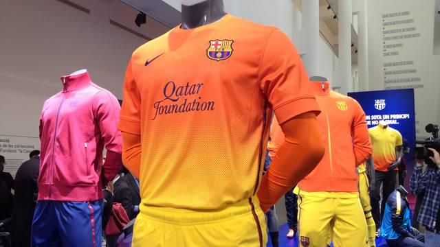 Barcelona uitshirt 2012/2013