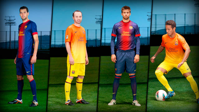 8218fb34b29 Barcelona 2012/2013 kits revealed