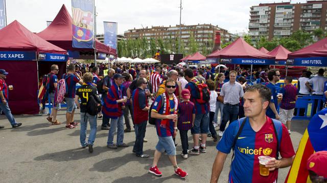 El Barcelona convertirá el Camp Nou en una 'fan zone' para los partidos de visitante