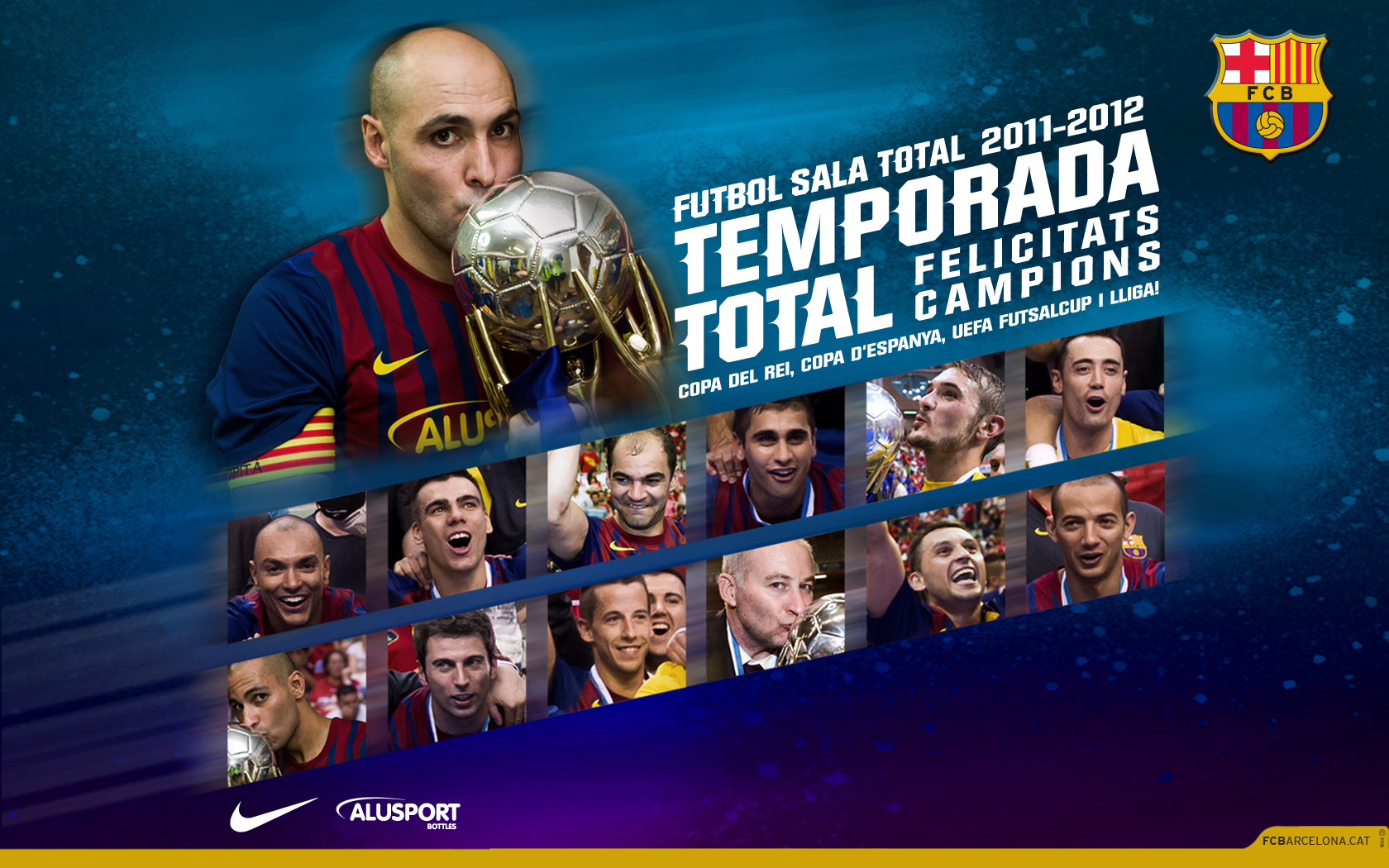 CAMPIONS · FUTBOL SALA - TEMPORADA 2011-12