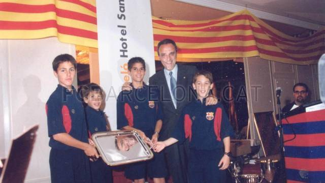 Jordi Alba's six years at La Masia