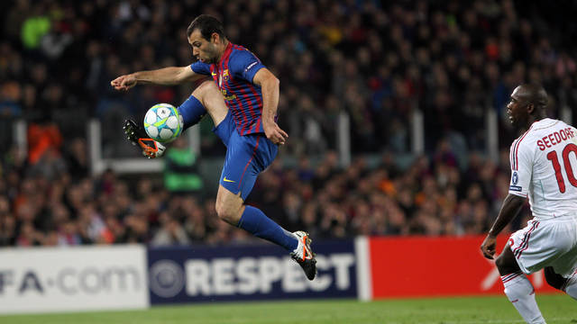 Mascherano / PHOTO: ARXIU FCB