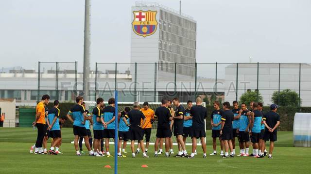 Training session 21/07/2012 / FOTO: MIGUEL RUIZ-FCB