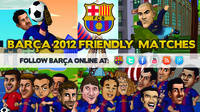 The Barça Toons pre-season