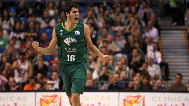 Abrines playing for Unicaja / PHOTO: Unicaja Baloncesto