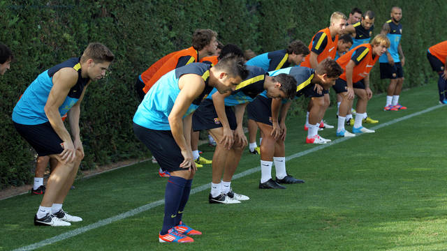 Friday's training session /PHOTO: MIGUEL RUIZ-FCB
