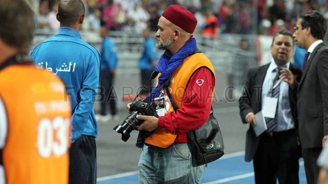 The other side of the match in Tangier / PHOTO: MIGUEL RUIZ-FCB