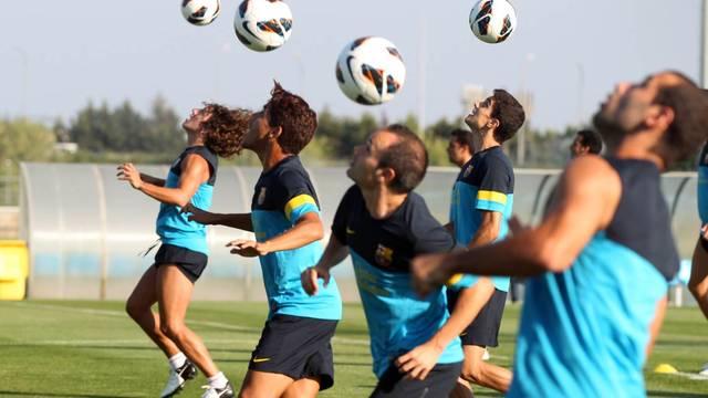 El Barça se entrenará en Barcelona, Girona y Suècia. FOTO: MIGUEL RUIZ-FCB.