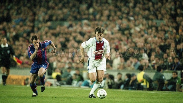 BARA-PSG, Champions League 1995 / PHOTO: FILE FCB