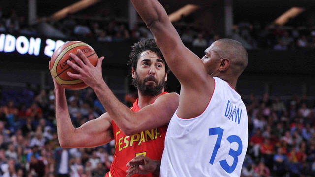 Navarro and Diaw in the quarter-finals / PHOTO: Matteo Marchi - FIBA