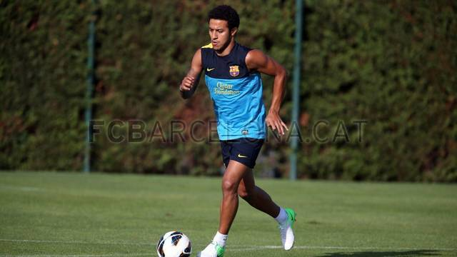 Training session 14/08/2012 / PHOTO: MIGUEL RUIZ - FCB