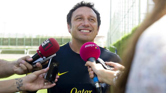 Eusebio Sacristán / PHOTO: ÀLEX CAPARRÓS-FCB.