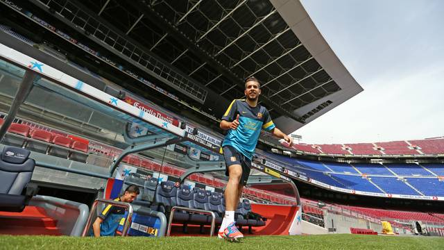 Jordi Alba / PHOTO: MIGUEL RUIZ-FCB.