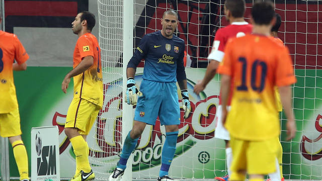 Valdés / PHOTO: MIGUEL RUIZ - FCB