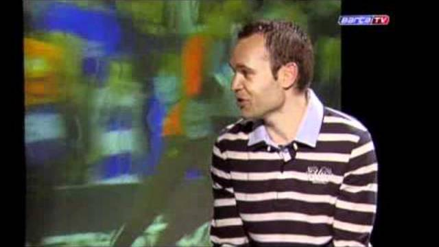 FC Barcelona- Iniesta, rememorant el gols d'Stamford Bridge