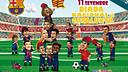 Els Barça Toons celebren la Diada