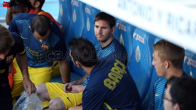 GETAFE - FCB (1-4) / PHOTO: MIGUEL RUIZ - FCB
