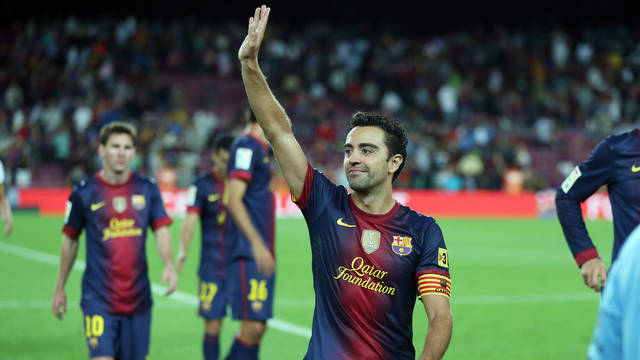 Xavi, this season PHOTO: MIGUEL RUIZ-FCB.