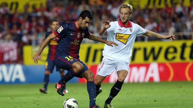 Sergio Busquets played his 200 game / PHOTO: MIGUEL RUIZ - FCB