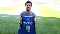 Cesc, with Dallas Mavericks t-shirt / FOTO: MIGUEL RUIZ - FCB