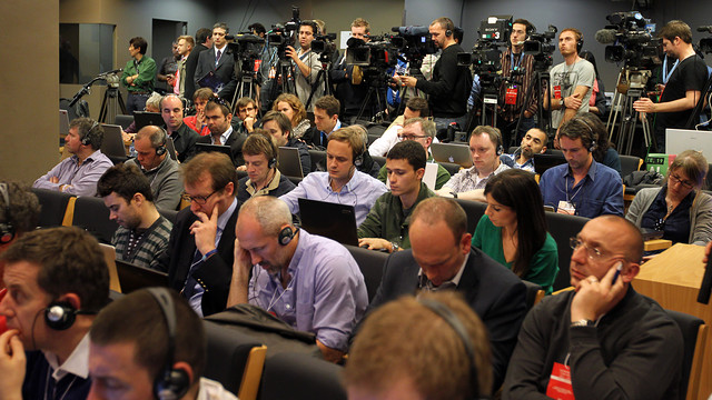 680 accredited press members to cover the Clásico / PHOTO: ARXIU FCB