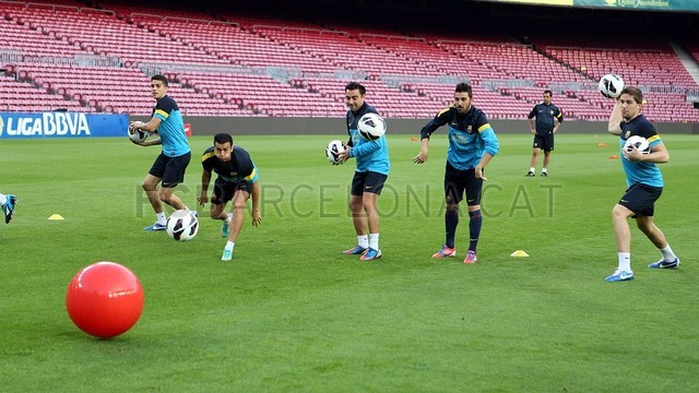 Training session 06/10/12 PHOTO: MIGUEL RUIZ - FCB