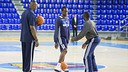 Entrenament Dallas Mavericks al Palau / FOTO: GERMAN PARGA - FCB